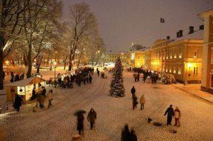 Navidad en Finlandia
