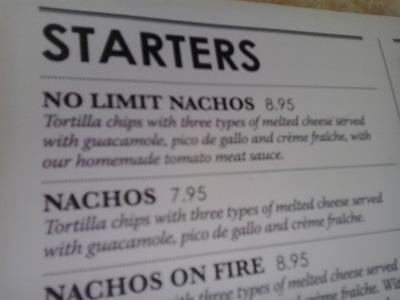 No Limit Nachos