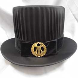 Sombrero de doctor en filosofía y psicología