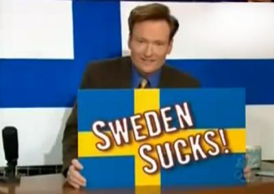 Conan O'Brien en Finlandia