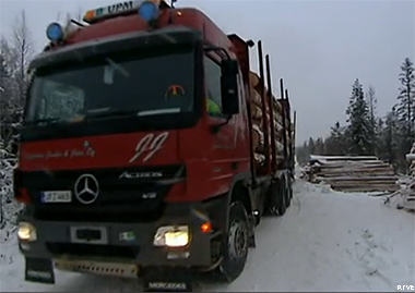 Camiones de madera Finlandia