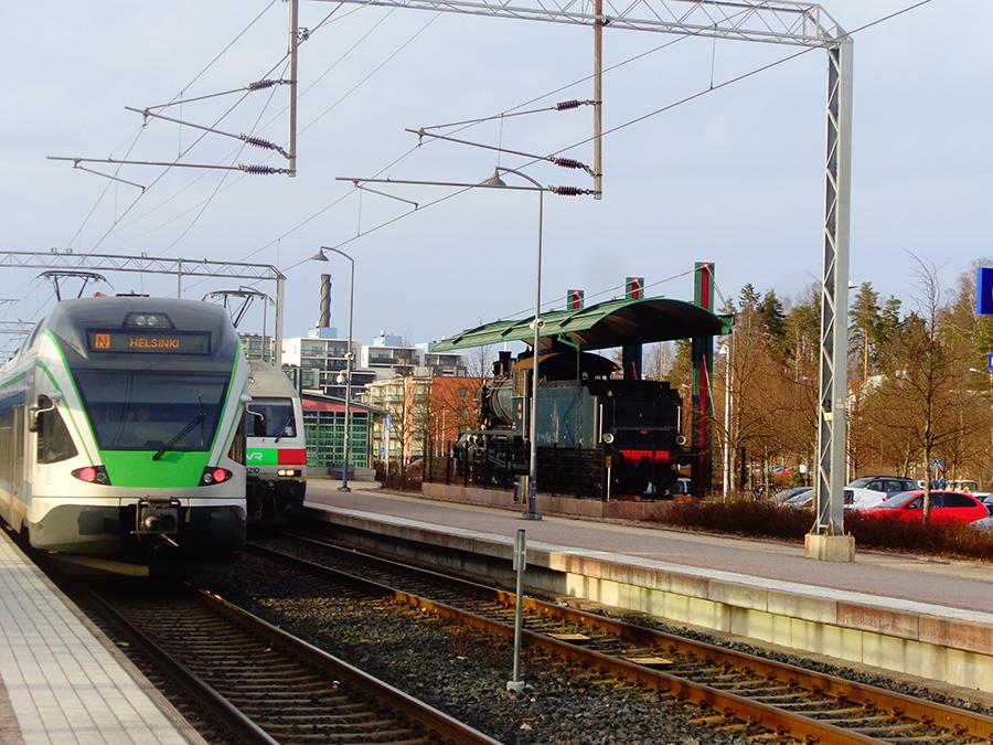 Tren de VR en Kerava