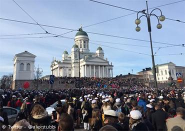 Vappu en Helsinki