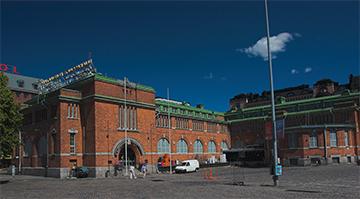 Mercado interior de Hakaniemi