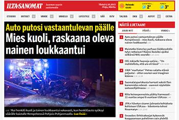 Ilta-Sanomat, tabloide finlandés