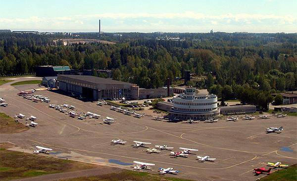 Aeropuerto de Helsinki-Malmi Finlandia