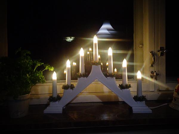 Velas eléctricas de Navidad