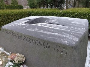 Tumba de Urho Kekkonen