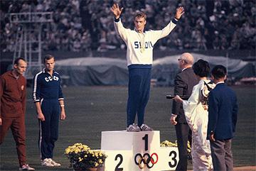 Pauli Nevala en unos Juegos Olímpicos para Finlandia