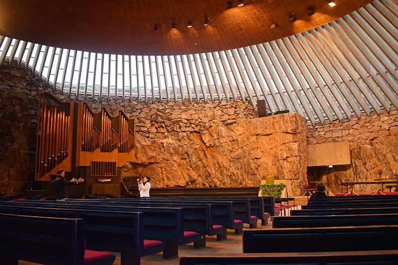 Iglesia de roca Helsinki