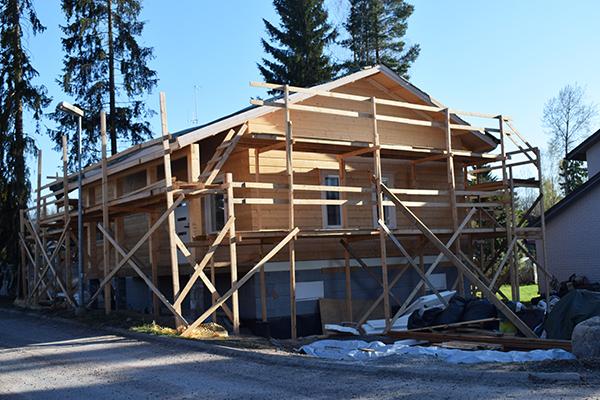 construcción casa Finlandia