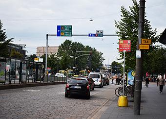Tráfico Helsinki