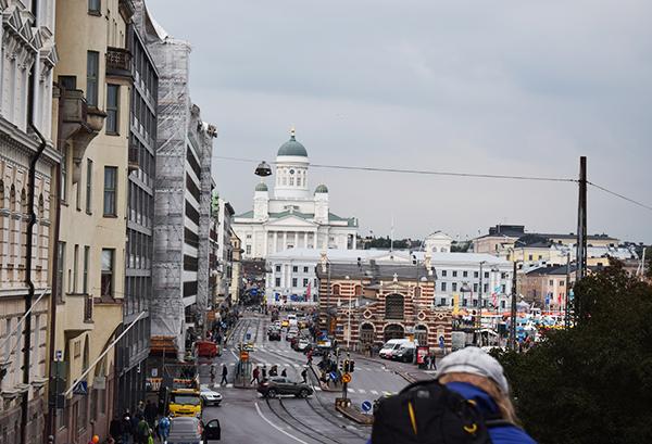 Vistas Helsinki Catedral