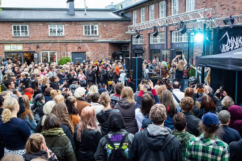Campeonato tejer heavy metal Finlandia