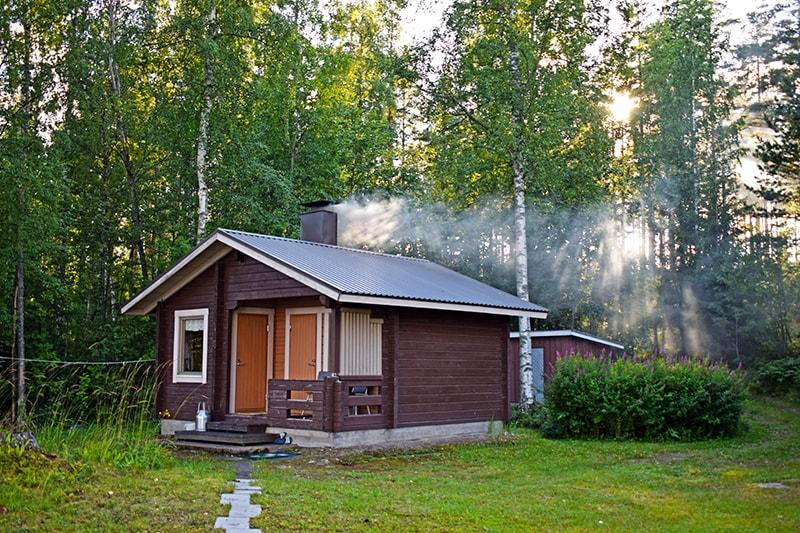 Casa campo lago sauna