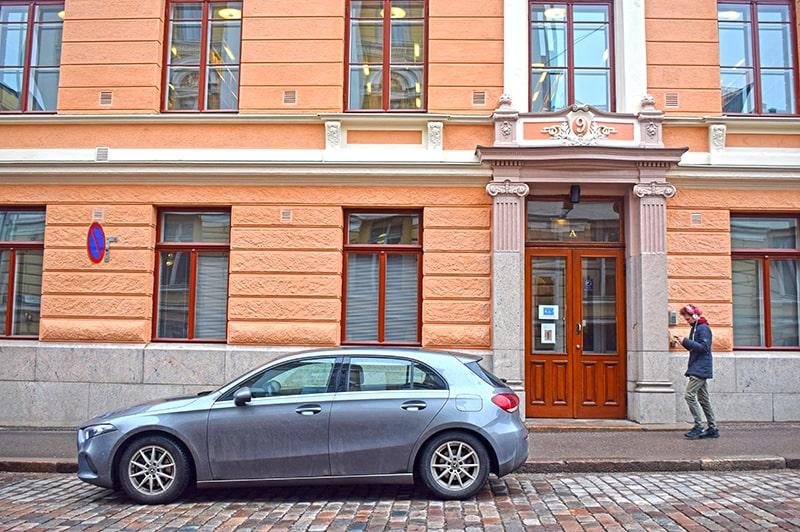 Helsinki ciudad limpia