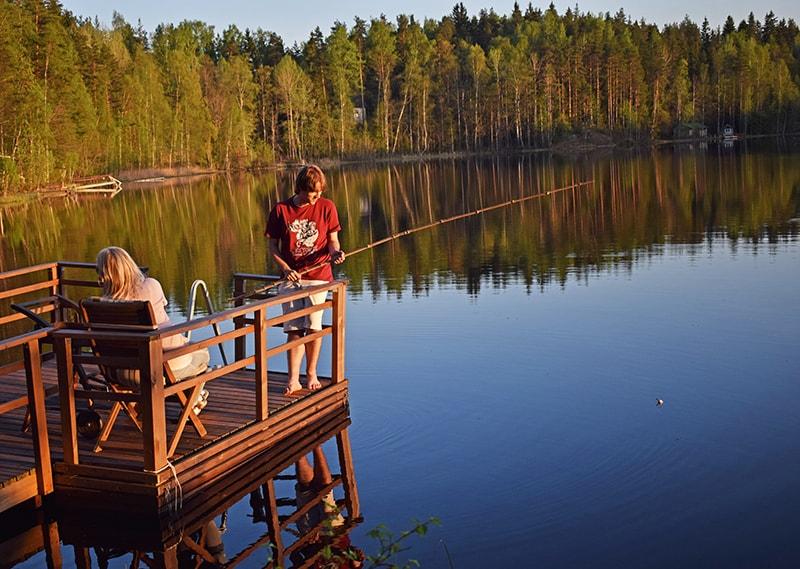 Pescar Finlandia