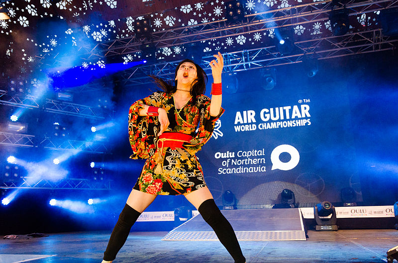 Air Guitar Oulu