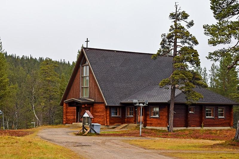 Saariselkä iglesia