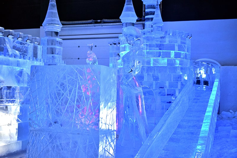 Castillo hielo Kemi