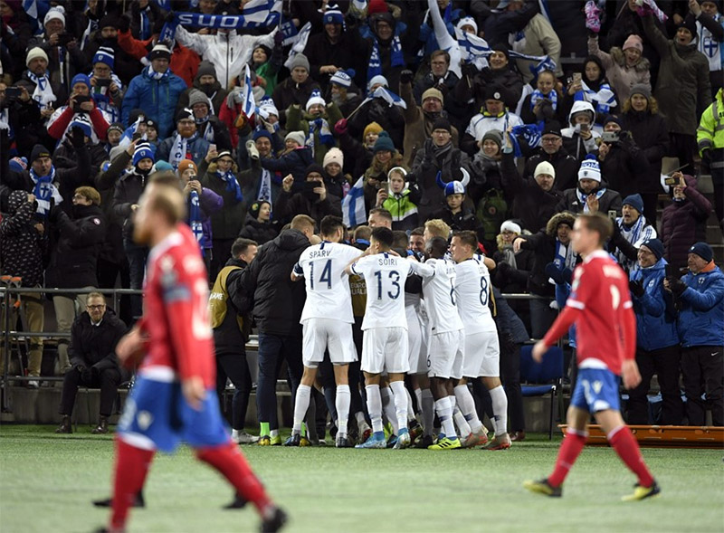 Finlandia - Liechtenstein Eurocopa