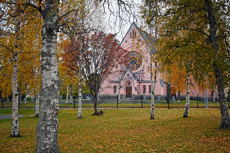 Iglesia neogótica Kemi