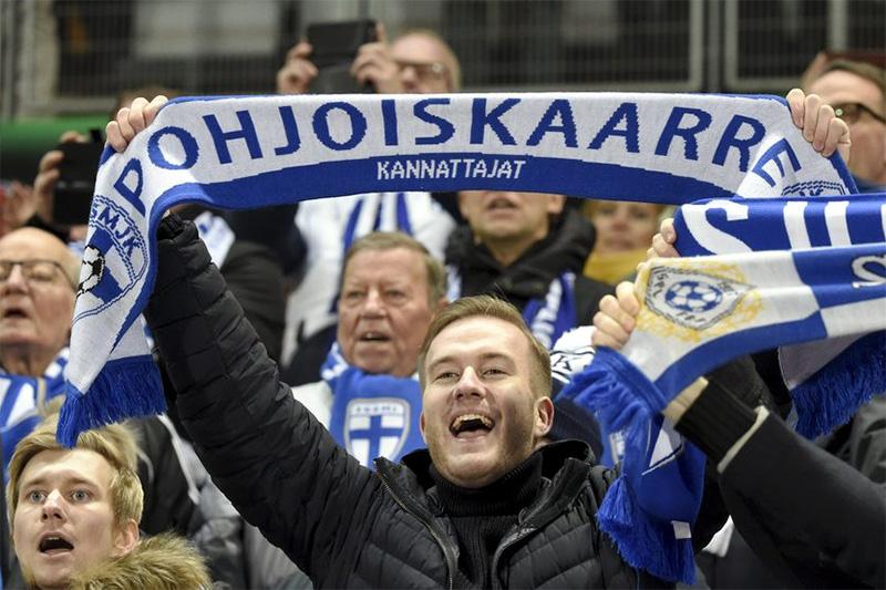 Pohjoiskaarre fútbol Finlandia