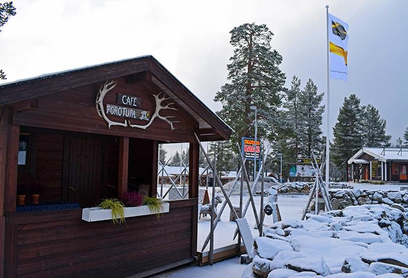 Primera nieve Laponia