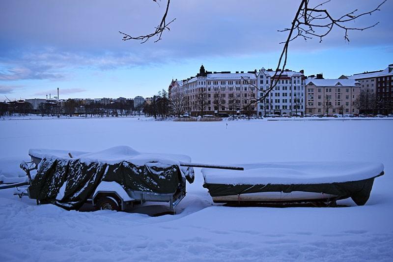 Helsinki invierno