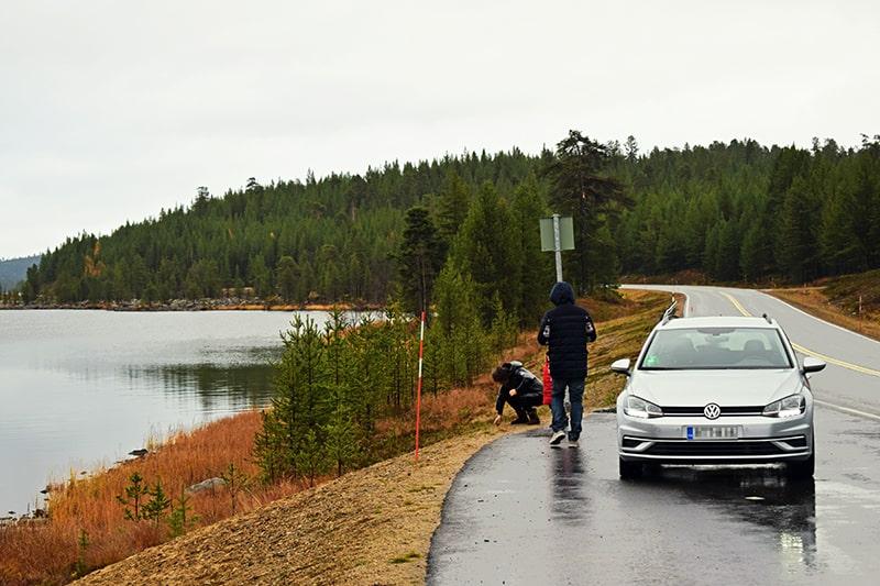 Inari lago Finlandia