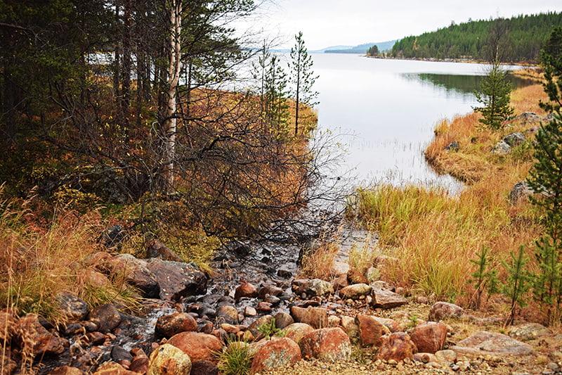 Lago Inari Laponia