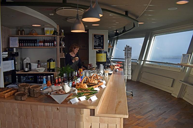 Torre Puijo Kuopio cafetería