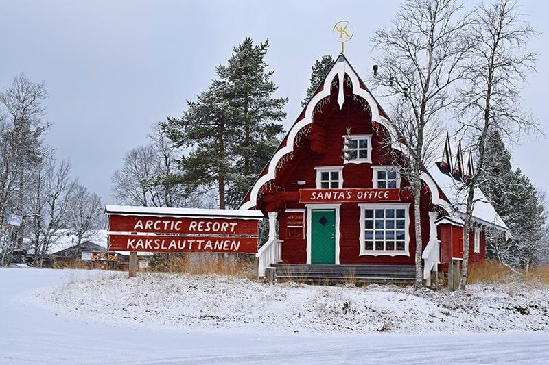 Saariselkä Laponia