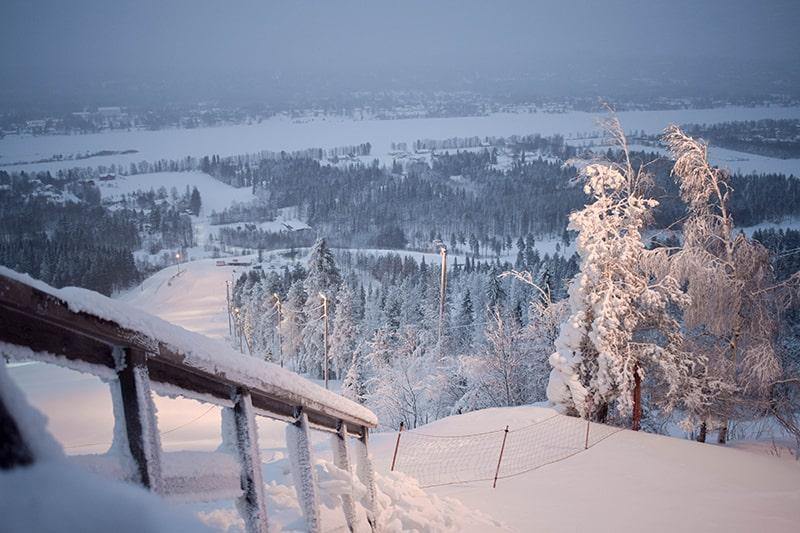 Ounasvaaran esquí