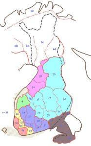 dialectos finlandés