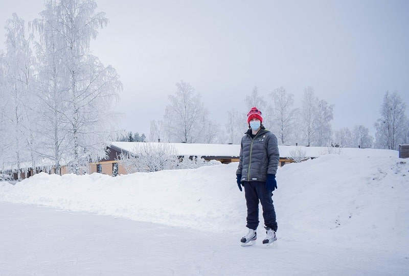 patinaje sobre hielo finlandia
