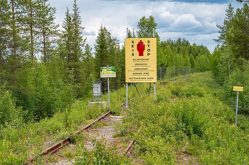 frontera entre finlandia y rusia