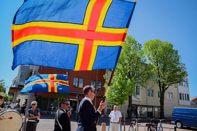 bandera de aland