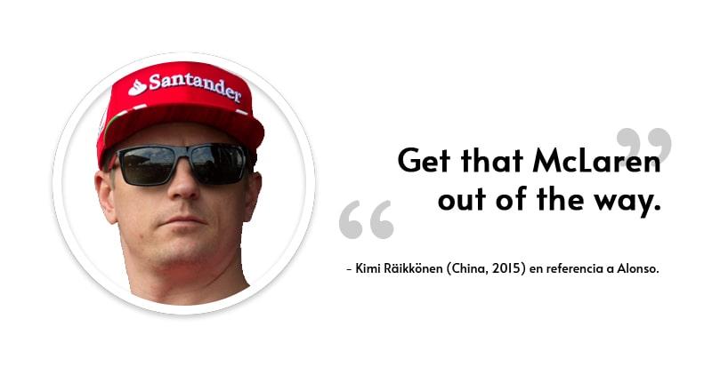 kimi raikkonen frases celebres
