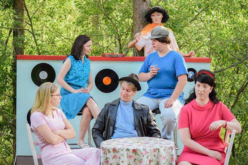 kesäteatteri teatro verano finlandia
