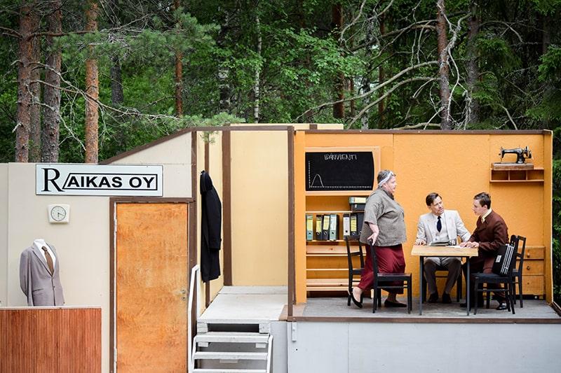 obras de teatro al aire libre finlandia