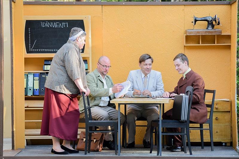 teatro al aire libre finlandia